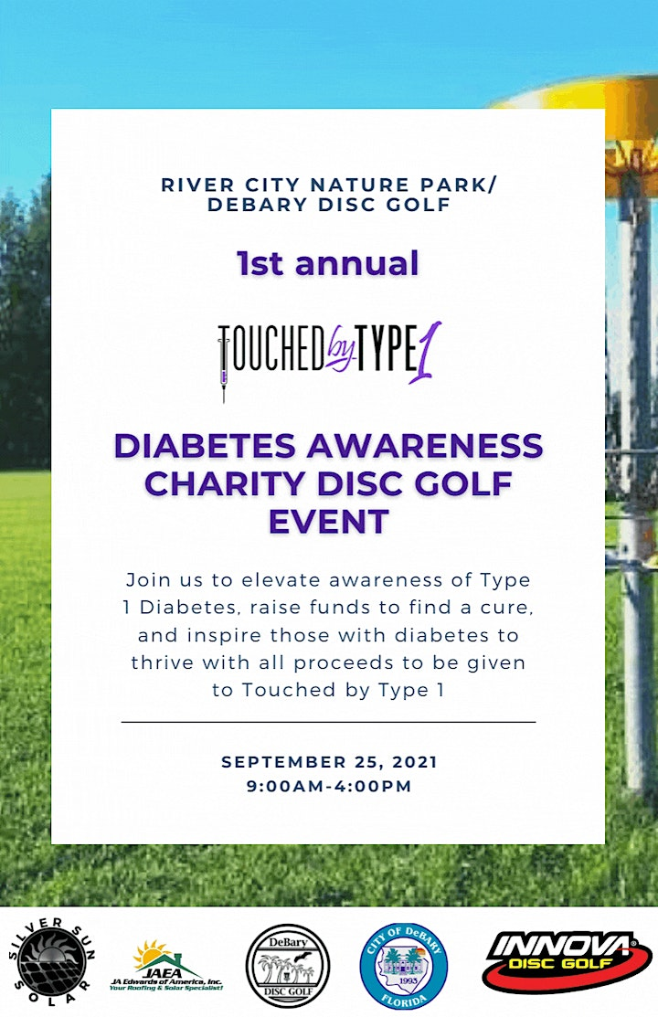 1st Annual Touched by Type 1 Charity Disc Golf Event image
