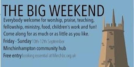 Minch Churches Big Weekend tickets