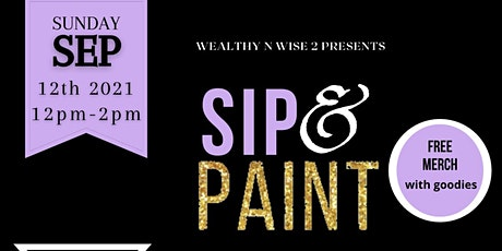 Sip & Paint Credit Edition tickets