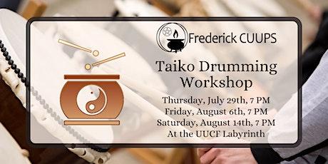 Taiko Drumming Workshop tickets