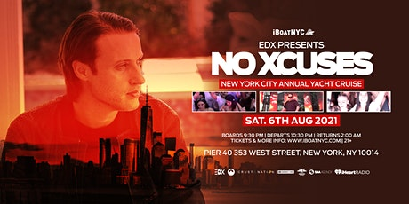 EDX Presents NO XCUSES Annual Yacht Cruise NYC tickets