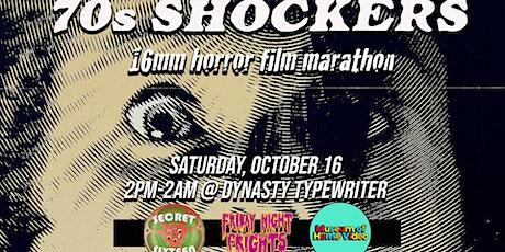 70's SHOCKERS: A 16mm Horror Movie Marathon tickets