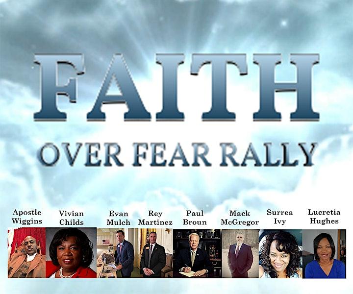 Faith Over Fear - God Family and Country Rally image