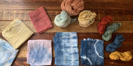 Shibori Dyeing with Plants Workshop tickets