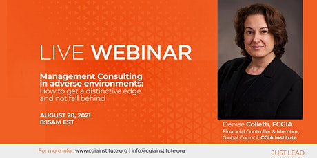 Management Consulting Webinar tickets