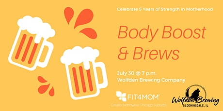 Brews and Body Boost tickets