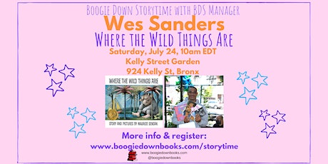 Boogie Down Storytime at Kelly Street Garden (July 24) tickets