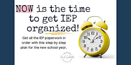 IEP Organization tickets