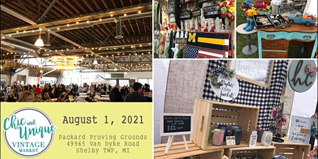 Vintage, Repurposed & Handmade Summer Market In Shelby Twp (4th Annual) tickets
