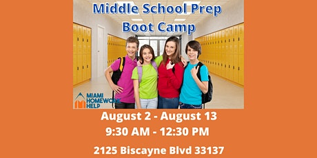 Middle School Prep Boot Camp tickets