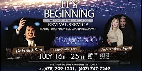 It's Beginning Revival Service tickets