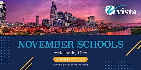 Vista November Schools tickets