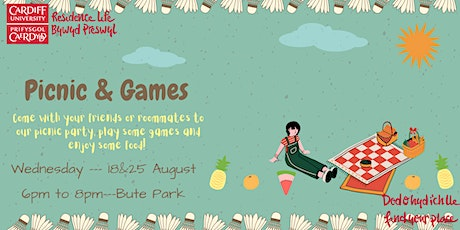 Picnic and games afternoon! tickets