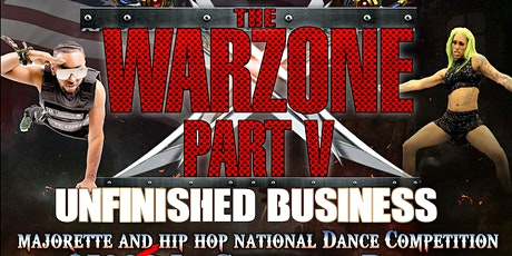 WAR ZONE PART V - UNFINISHED BUSINESS tickets