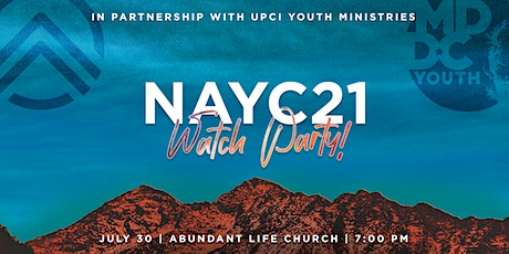 NAYC21 Watch Party tickets