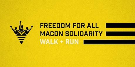 Macon Freedom For All Solidarity 5K Walk/Run tickets