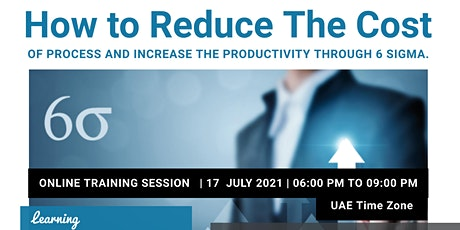 Reduce the cost and improve Productivity Through 6 Sigma tickets