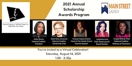 NCBW OBAC & Main Street Launch Virtual Scholarship Awards Reception tickets