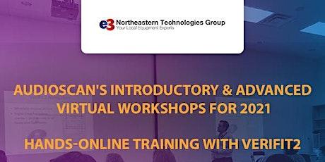 Audioscan Workshop 2021 - e3 Northeastern Technologies Group - AM Session tickets