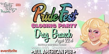 Pride Fest Closing Party Brunch tickets