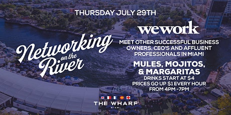 Networking on the River at The Wharf Miami with WeWork boletos
