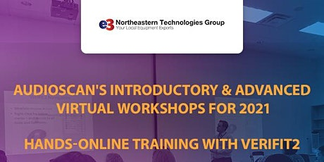 Audioscan Workshop 2021 - e3 Northeastern Technologies Group - PM Session tickets