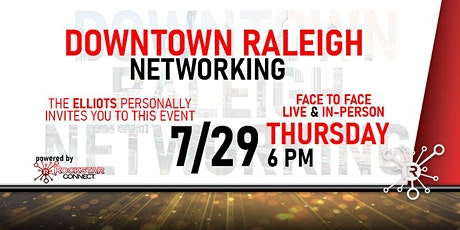 Free Downtown Raleigh Rockstar Connect Networking Event (July) tickets