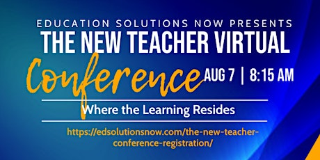 The New Teacher Virtual Conference tickets