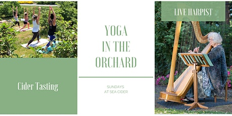 Yoga with Live Harpist at SeaCider tickets