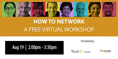 How to Network: A Free Virtual Workshop tickets