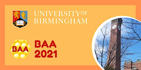 The International Workshop on the Bees Algorithm and its Applications (BAA) tickets