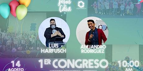 Congreso de Jesus en Casa| 14 de Agosto 2021 boletos