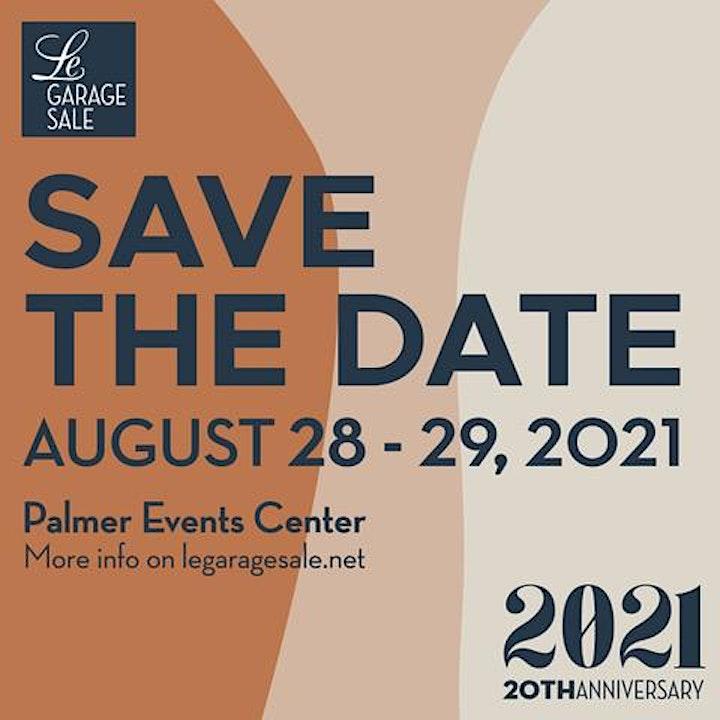 Le Garage Sale - Aug. 28-29, 2021 image