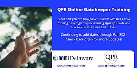 QPR Gatekeeper Training tickets