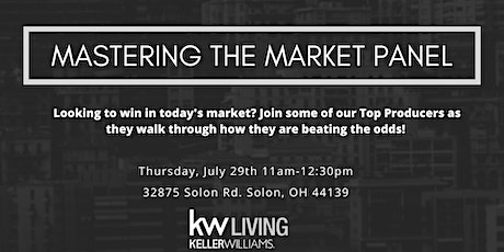Mastering the Market Panel tickets