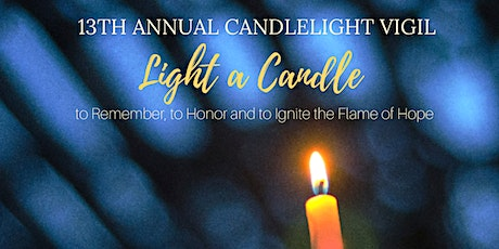 13th Annual Candlelight Vigil tickets