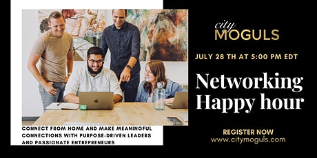 Monthly Networking Happy Hour for Entrepreneurs - July Edition tickets