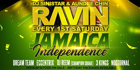RAVIN - JAMAICA'S INDEPENDENCE tickets