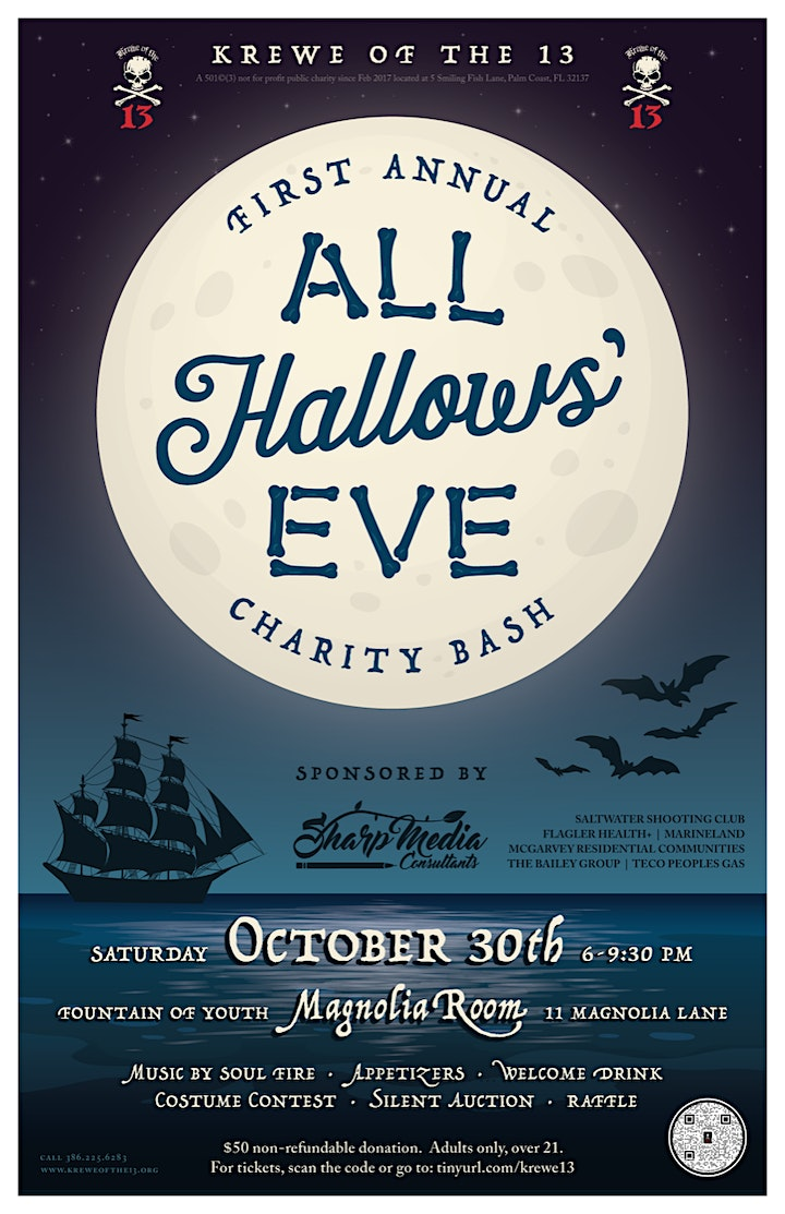 1st Annual All Hallows' Eve Charity Bash image