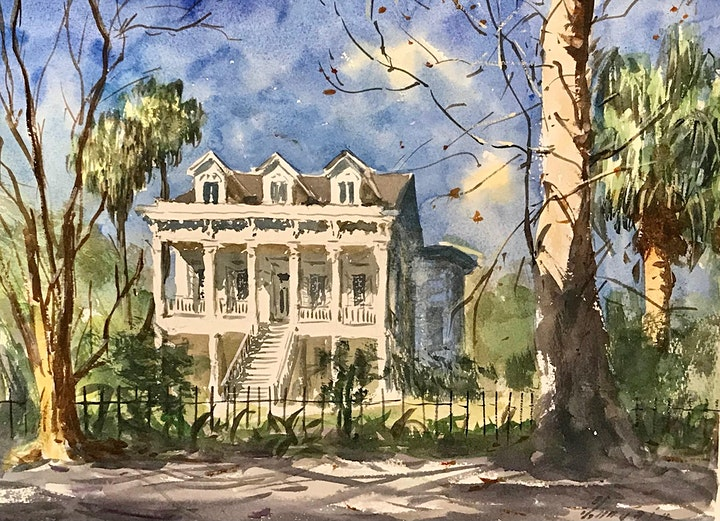 Watercolor Classes with Diego Larguia image