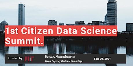 Citizen Data Science Summit tickets