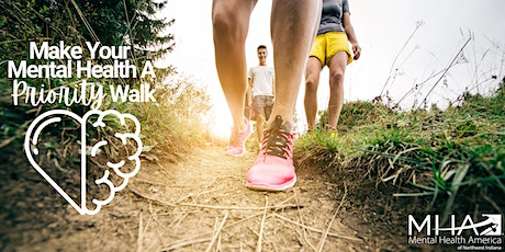 Make Your Mental Health A Priority Walk tickets