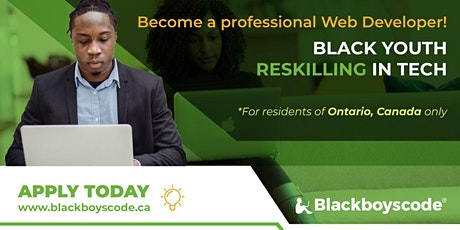 Black Boys Code Reskilling Workshop Introduction to HTML/CSS (Aug 5) tickets
