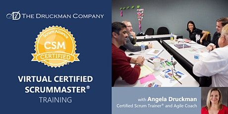 Virtual Certified ScrumMaster® | Pacific Time | Nov 4 - 5 tickets