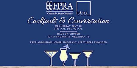 Cocktails & Conversation - FPRA Orlando tickets