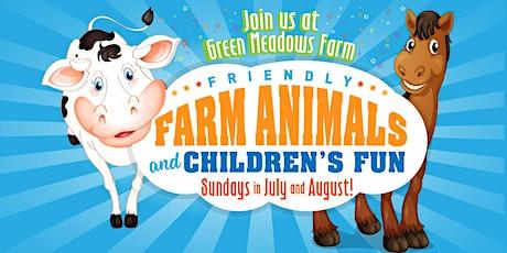 Friendly Farm Animals tickets