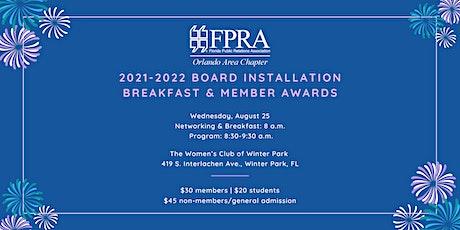 2020-2021 FPRA Orlando Board Installation Breakfast & Member Awards tickets