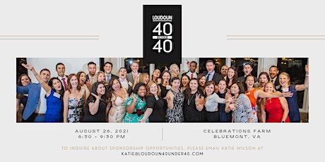 2021 Loudoun 40 Under 40 Awards Banquet tickets