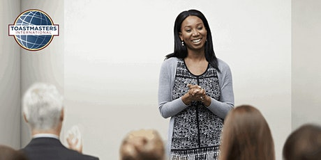 Improve Your Public Speaking with Toastmasters tickets