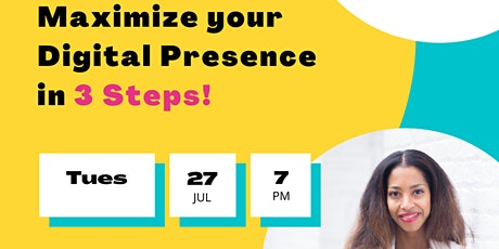 Maximize Your Digital Presence tickets
